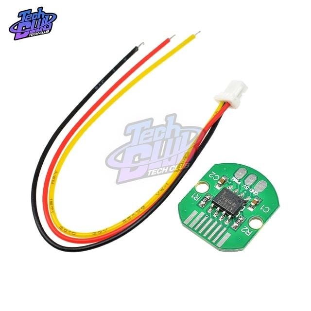 AS5600, кодировщик абсолютного значения, порт PWM I2C, высокоточный 12 битный бесщеточный карданный кодировщик двигателя