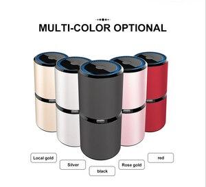 Image 5 - GIAHOL Mini purificateur dair Portable pour voiture, à ions négatifs, USB, purificateur dair, purificateur dair, purificateur dair pour les voitures, le bureau et la maison