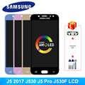 Süper Amoled J5 Pro Samsung Galaxy J5 2017 LCD J530 J530F LCD ekran dokunmatik ekran digitizer ekran J5 Pro J530FM AMOLED