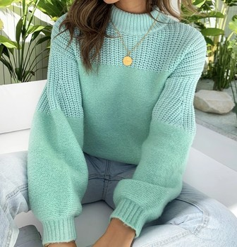 Women Casual Knitted Autumn Sweater Elegant Hollow Out Sweater Tops Vintage Long Sleeves O-neck Loose Solid Pullover Sweater 2020 elegant knitted sweater dress women korean causal autumn spring hollow out long sleeve loose pullover long dress black