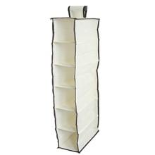 Organizer Wardrobe Storage-Bag Underwear Hanging-Box Dormitory 6-Layers