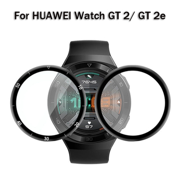 2pcs Tempered Film For Huawei Watch GT 2e 46mm Screen Protectors For Huawei Watch GT2 42 46mm Protective Film Not Tempered Glass 2pcs pack tempered glass screen protector watch screen protective films for samsung galaxy watch 42 46mm