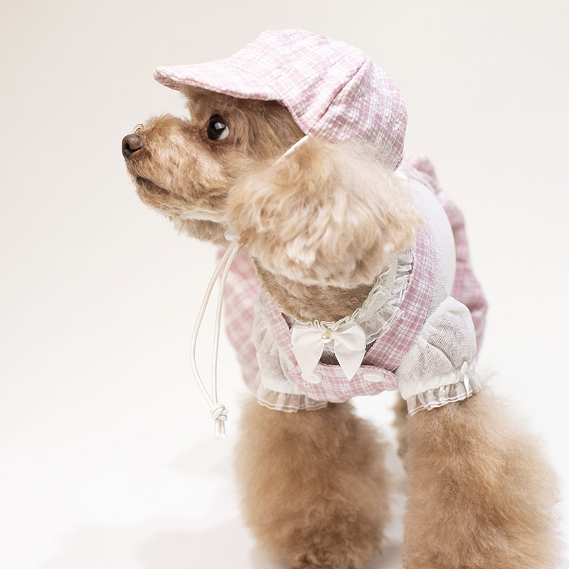puppy jumpsuit set summer clothes dogs (2)