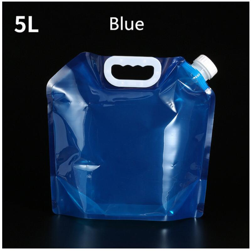 10L Outdoor Foldable Folding Collapsible Drinking Water Bag Car Water Carrier Container For Outdoor Camping Hiking Picnic BBQ