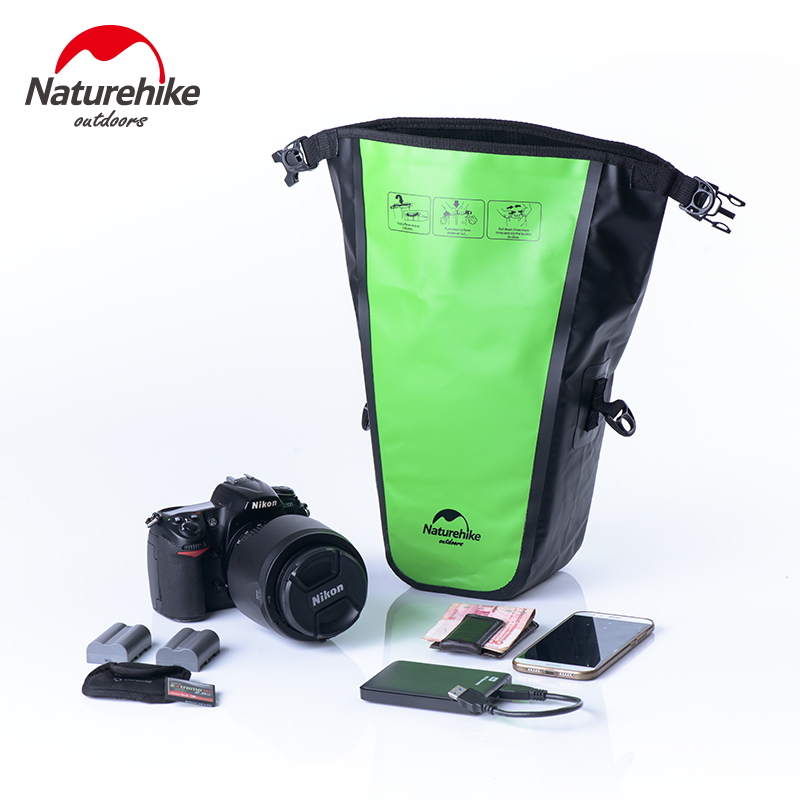 Naturehike Waterproof Camera Bag Photography Camera Video Bag Canon, SONY SLR Camera Waterproof Bag Rain Sand Cover Swimming Bag