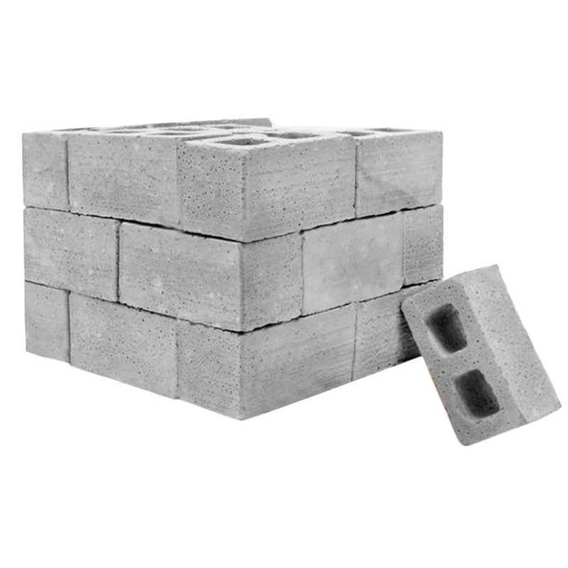Teaching Class Wall Cement Toy New 32Pcs Mini Cement Cinder Bricks Build Your Own Tiny Wall Mini Red Bricks Gray
