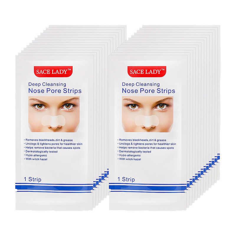 1Pc nos zaskórnika Remover trądzik paski głębokie oczyszczanie porów Cleaner czarna głowa pielęgnacja twarzy skórki maska hurtownie