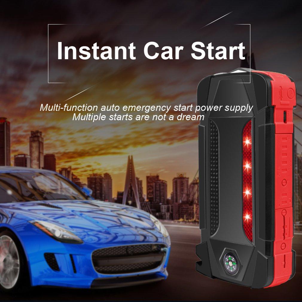 Multi Funzione Auto di Avvio di Emergenza Batteria Agli Ioni di Litio Polimero di Potere di Ricarica per Auto Notebook Tesoro Mobile di Potere - 6