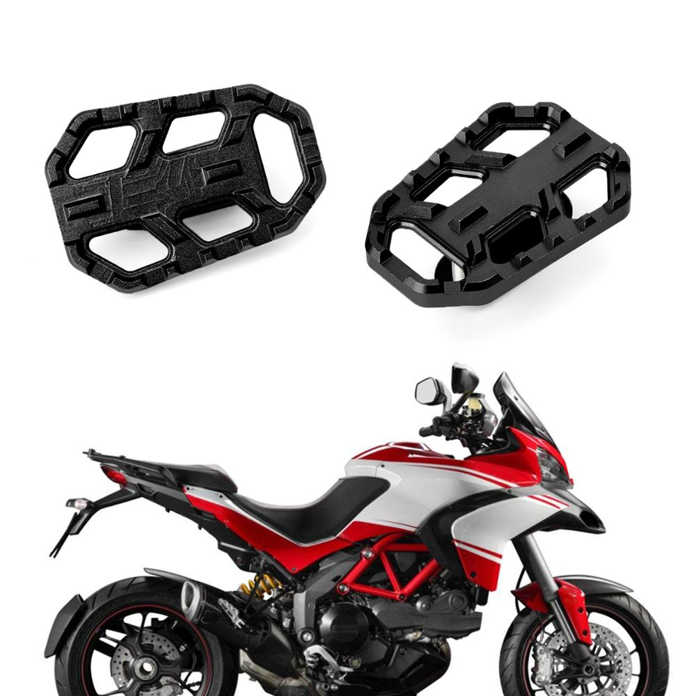 Areyourshop For DUCATI Multistrada 950 1200/1200S/1200 ENDURO HYPERMOTARD 821 950/SP 939/SP Front Foot Peg Footrest Aluminum