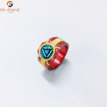 The Avengers3 Iron Man Logo Ring Wonder Woman Peripheral Products Cosplay New Arrival high quality Men Jewelry