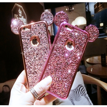 100pcs-for-iphone-x-xs-max-xr-6-6s-7-8-plus-cartoon-mouse-ears-case-for-samsung-galaxy-s6-s7-edge-s8-s9-plus-bling-glitter-cover
