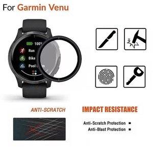 Image 2 - VSKEY 10PCS 3D מעוקל רך מסך מגן עבור Garmin Venu 2s מלא כיסוי נגד שריטות מגן סרט (ללא מזג זכוכית)