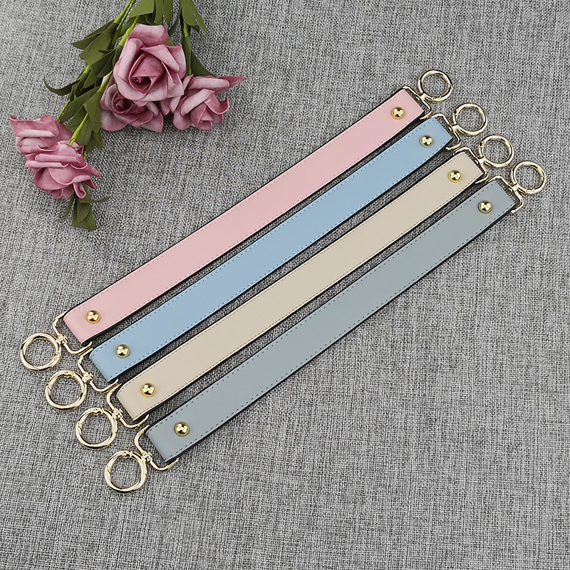 40cm DIY Replacement Bag Strap Women Handbags Strap Handle Short Belt Accessories PU Leather Shoulder Bags Belts Black Blue Hot