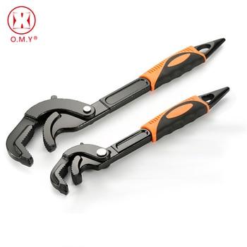 цена на Multi-function Adjustable Spanner Universal Wrench Tool Home Repair Key Hand tool Multi Purpose Universal Pipe Wrench DIY Tools
