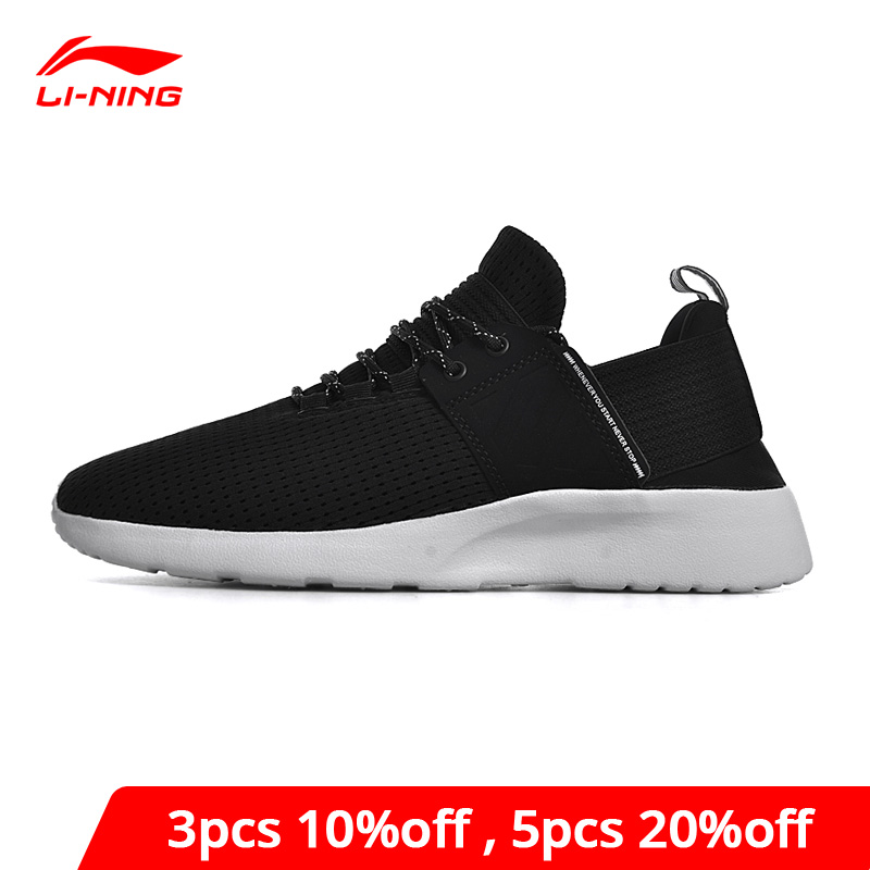 Li-Ning Men's Sports Life Lifestyle Shoes Leisure Jogging Sport Shoes Breathable LiNing Li Ning Comfort Sneakers GLKN025 YXB178