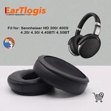 EarTlogis Replacement Ear Pads for Sennheiser HD 300/ 400S/ 4.20/ 4.30/ 4.40/ 4.50 BT BTNC/ 4.40BT/ 4.50BT Earmuff Cover Cushion