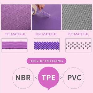 Image 5 - 1830*610*6mm TPE Yoga Mat with Position Line Non Slip Carpet Mat For Beginner Environmental Fitness Gymnastics Mats Pilates