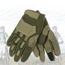 Мужские спортивные перчатки на полный палец, перчатки с сенсорным экраном для улицы, тактические перчатки, военные, для страйкбола, для стрельбы, охоты, жесткие перчатки на концах пальцев