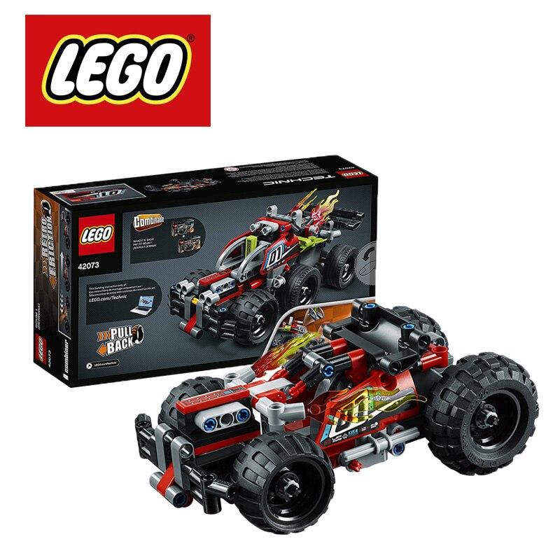 LEGO Technic BASH Building Kit 139Piece 42073 Pull-back Combinable Lego Ninjago Duplo Building Blocks 42073 DIY Educational Toys
