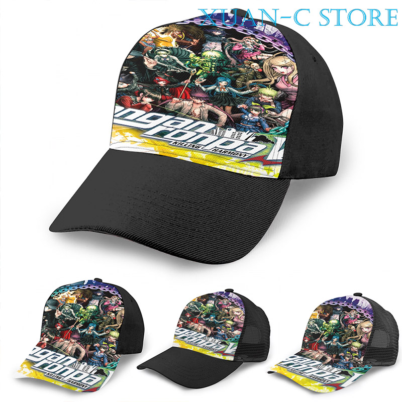 Adult Mesh Caps Hats Adjustable for Men Women Unisex,Print Basketball Art