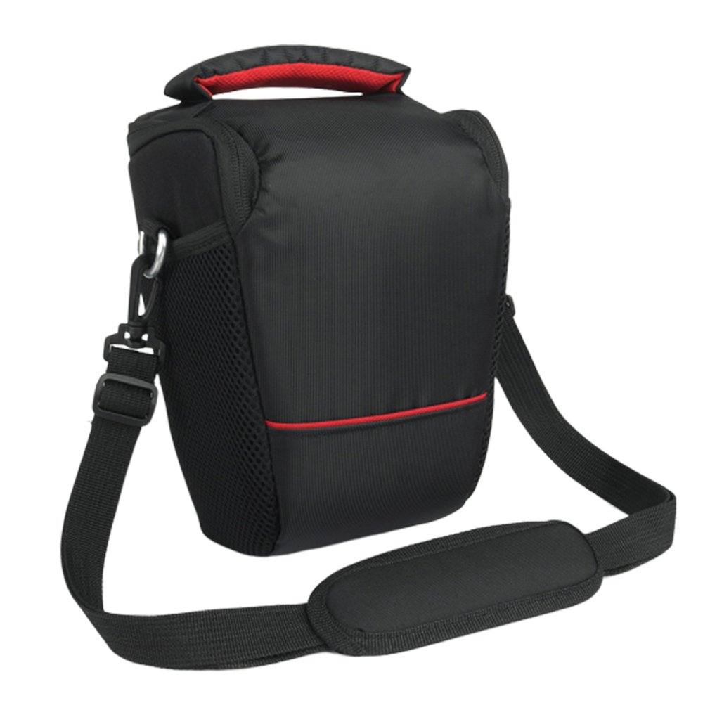 Photo Camera Sling Bag Shoulder Cross Digital Case Waterproof Rain Cover DSLR Soft Men Women Bag for Canon Nikon Sony SLR Nylon