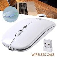 새로운 도착 1pc 1600 인치 당 점 USB 광학 무선 마우스 무선 마우스 2.4G 수신기 슈퍼 침묵 PC 노트북 노트북 액세서리