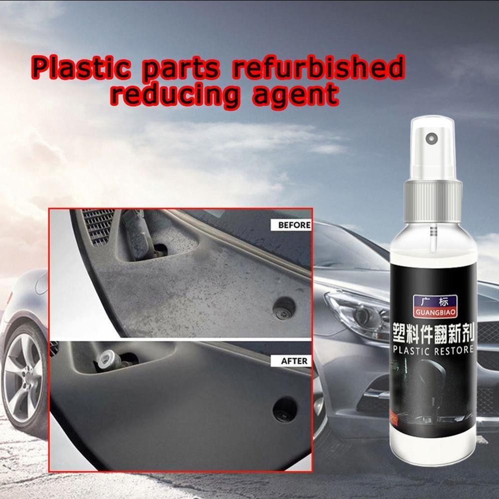 Auto Plastic Renovated Coating Paste Maintenance Agent Plastic Parts Wax Instrument Panel Retreading Agent Automotive Interior