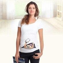 Летняя модная одежда для беременных женщин; свитер для беременных; Забавный свитер на молнии с круглым вырезом; Лидер продаж; топы для беременных