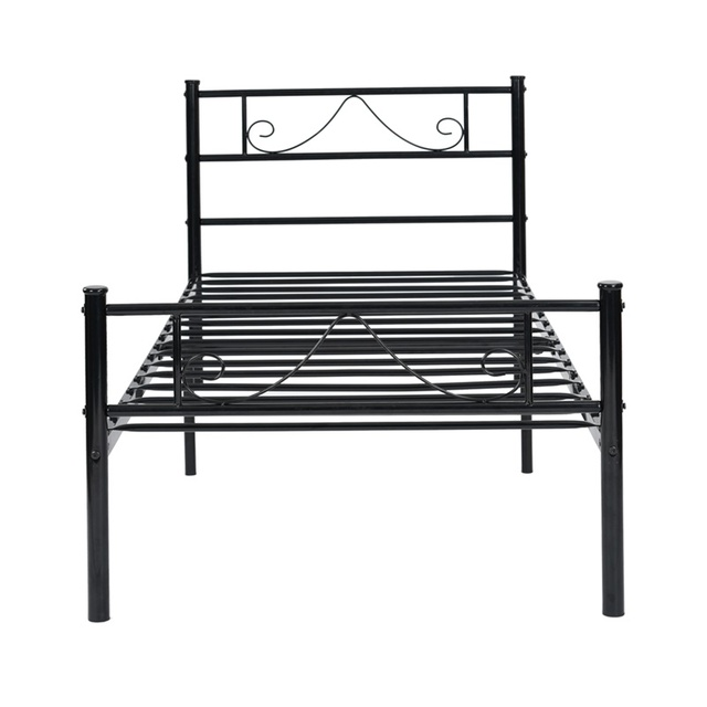 Metal Frame Twin/Full Platform Bed  4