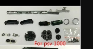 Image 2 - לpsvita ps vita psv 1000 pch 1001 lcd תצוגת מסך + חזור שיכון כיסוי מעטפת מקרה + כפתורים ערכת ברגים סט