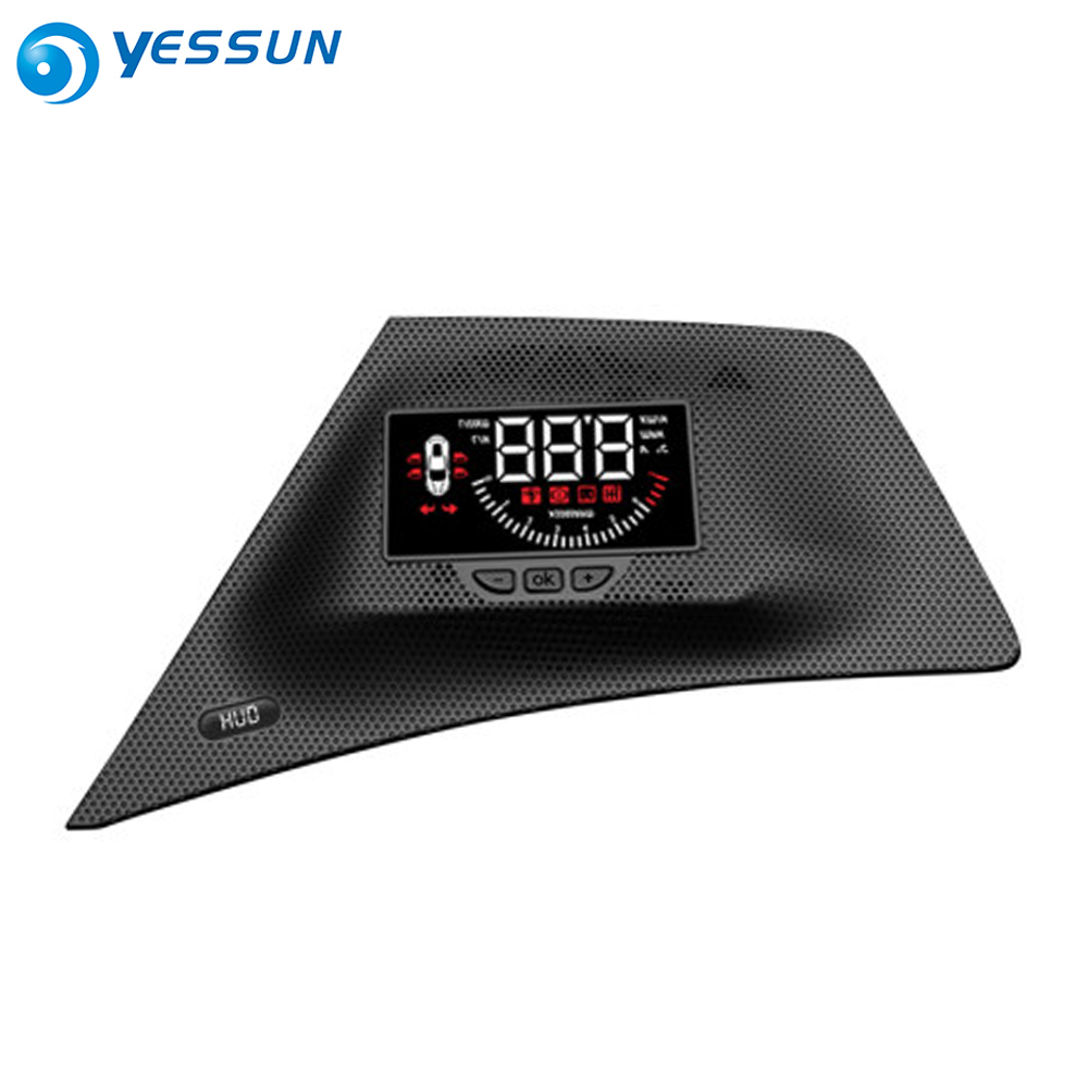 For Mitsubishi Eclipse Cross 2018 2019 Auto Safe electronics Full Function Car HUD Head Up Display on the windshield projector