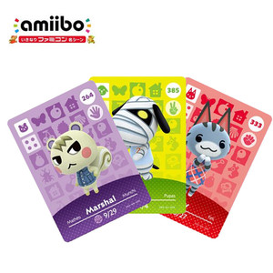 Animal Crossing Amiibo Card New Horizons for NS games Amibo Switch/Lite Amiibo Card NFC Welcome Cards Series 1 To 4