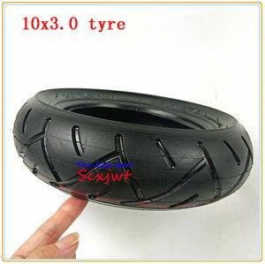 Image 4 - 10x3.0 ra Lốp ống bên trong Cho KUGOO M4 PRO Xe Điện bánh xe 10 inch Gấp xe điện bánh xe lốp xe 10*3.0 lốp xe