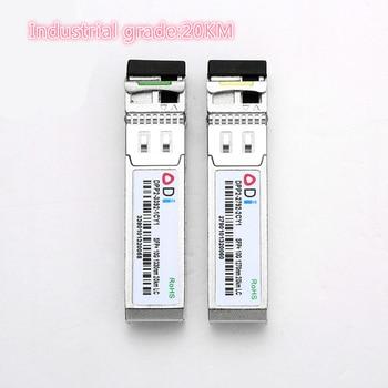 SFP 10G LC 20KM 1270nm/1330nm Industrial grade Single Fiber SFP Optical Module SFP Transceiver   Industrial grade -40-85 Celsius