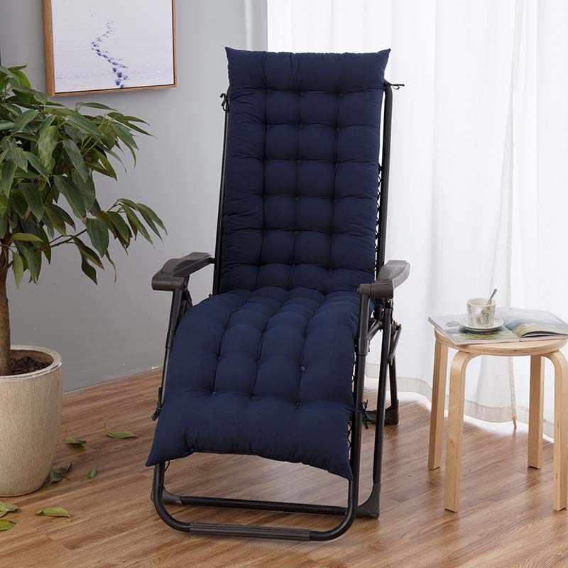 Açık bahçe Veranda masa Recliner yastık şezlong geri Relaxer Pad koltuk minderi için şezlong