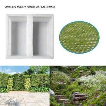Plastic Garden Pavement Mold DIY Walking Road Path Paving Stone Concrete Mould Mold Can Be Reused To Create a Beautiful Road image