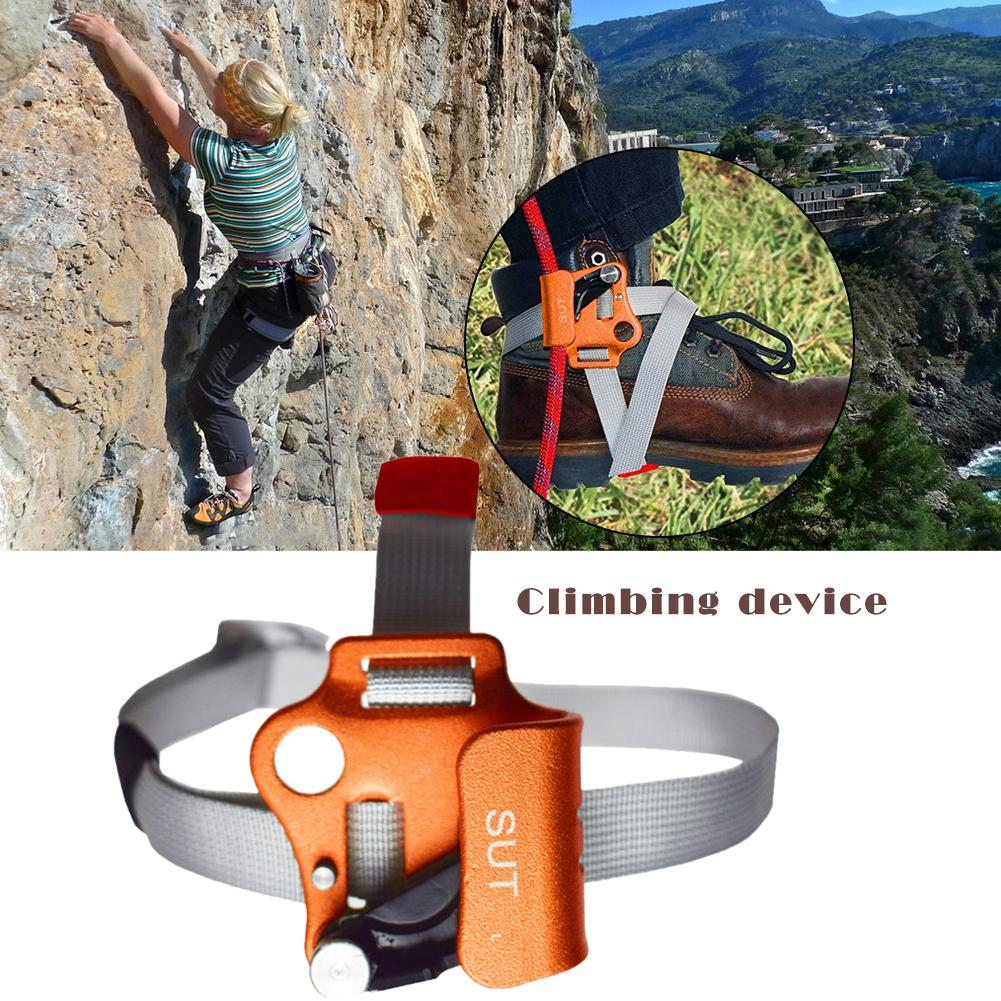 Right//Left Foot Ascender Riser Rock Climbing Mountaineering Equipment Gear  KN