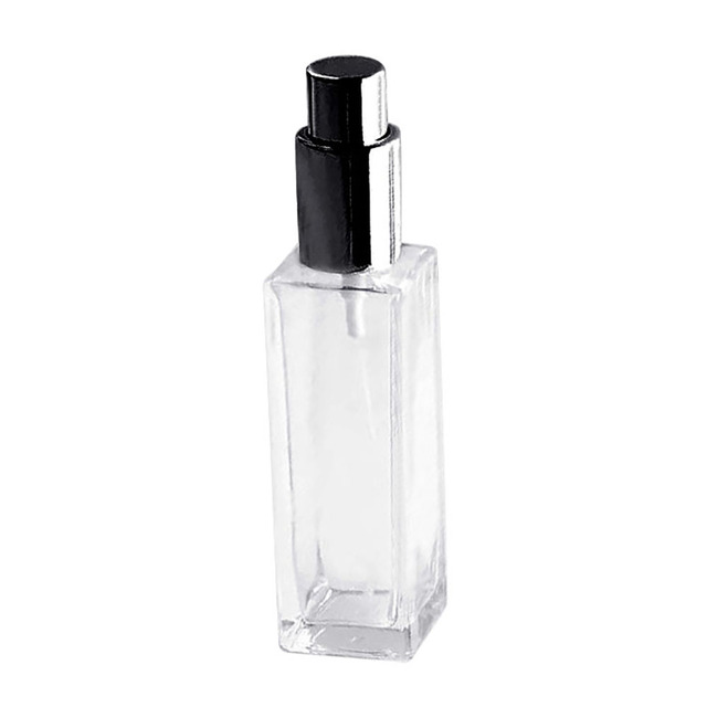 1 Pcs 30/50ml Portable Clear Glass Refillable Perfume Atomizer Empty Spray Bottle Squeeze Containers  Travel Cosmetic Container 3