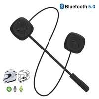 1PC Dual Visor Motorcycle Helmet Headset Bluetooth 5.0 EDR Headphones Microphone Bicycle Helmet Earphone Handsfree Speaker Call|Helmet Headsets| |  -