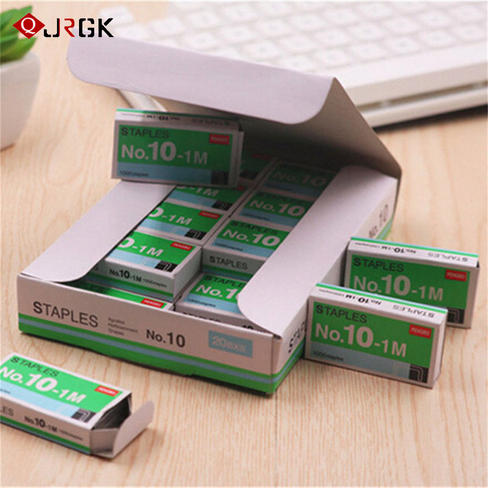 10 Box/lot No. 10 Staples For Desktop Stapler Metal Staples For Office School Supplies Stationery Book Staples Stitching Need