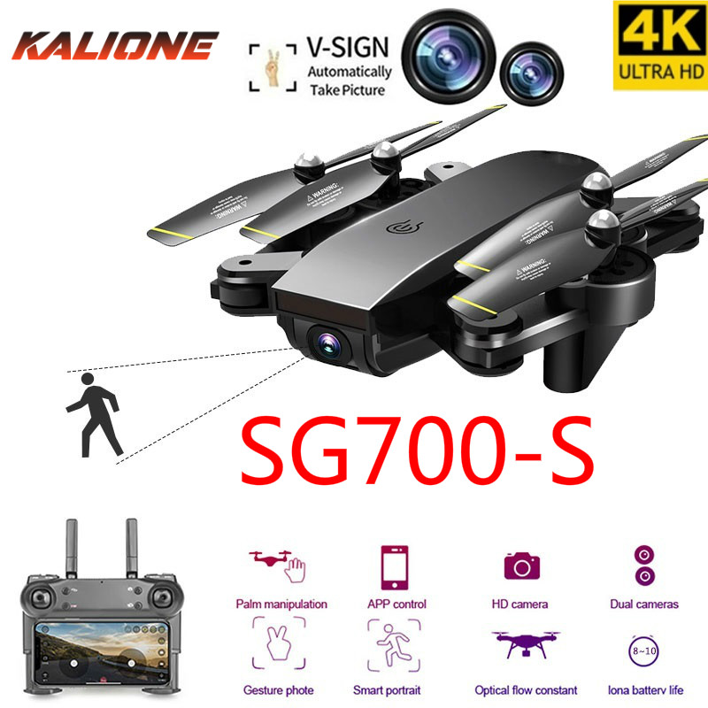 SG700S RC Drone 4K with Camera HD Professional 1080P FPV Selfie Dron Quadcopter Professional VS E58 VISUO XS809HW  Drones XMAS