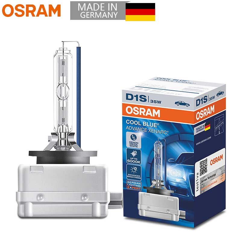 D1s Osram Xenarc Cool Blue Intense 6000k Light Xenon Hid Car Bulb Single