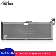 PINZHENG 14600mAh Laptop Battery For Apple MacBook Pro 17 A1297 A1309 2009 Years Battery For Li-ion Polymer With Tools for apple macbook pro 17 a1297 mc725 mc226 024 2009 left