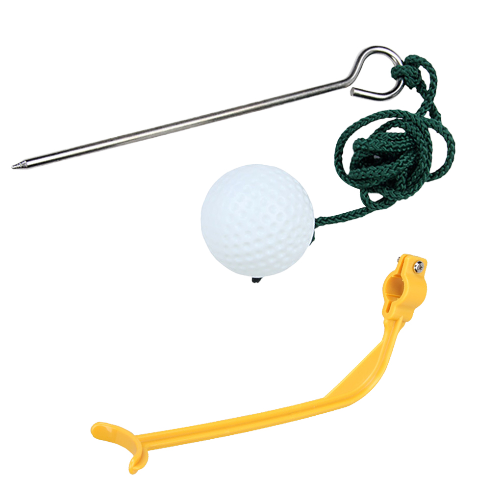 Golf Corrective Actuated Orthosis Beginners Posture Training+ Rope Golf Ball Golf Training Aids Golf Accessories