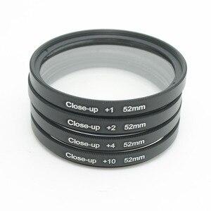 Image 4 - Close Up Macro Bộ Lõi Lọc Có Mang Theo Túi + 1 + 2 + 4 + 10 Cận 49 52 55 58 62 67 72 77Mm Cho Canon Nikon Sony Camera