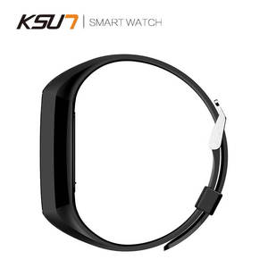 Image 5 - KSUN KSS701 스마트 시계 피트니스 팔찌 MiBand 밴드 3 빅 터치 스크린 OLED 메시지 심박수 시간 Smartband