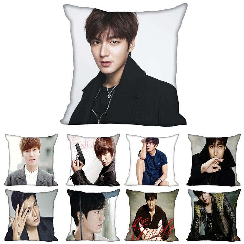 Lee Min Ho Pillow Case For Home Decorative Pillows Cover Invisible Zippered Throw PillowCases 40X40,45X45cm