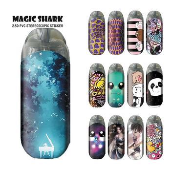 Magic Shark-funda para puros ultradelgada con diseño de oso Panda para Vaporesso...