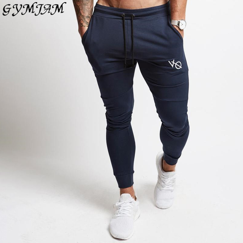 Cotton men's casual trousers fashion streetwear men's trousers jogger fitness sportswear pants men's sweatpants