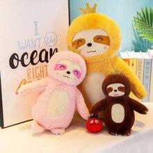 New Creative Cute Sloth Plush Toy Stuffed Animal Doll Toys Pillow Cushion Children Girls Gift